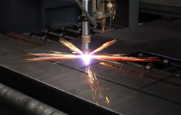 Plasma Cutting on CNC table