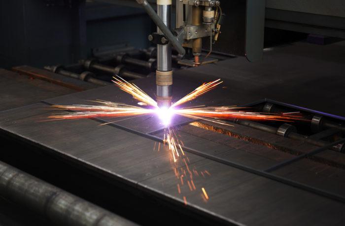 Plasma Cutting on CNC table