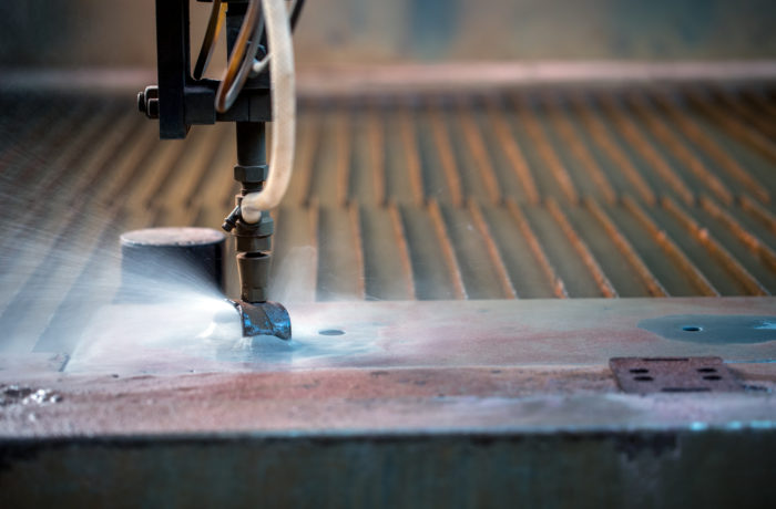 Water cutting of friction material available